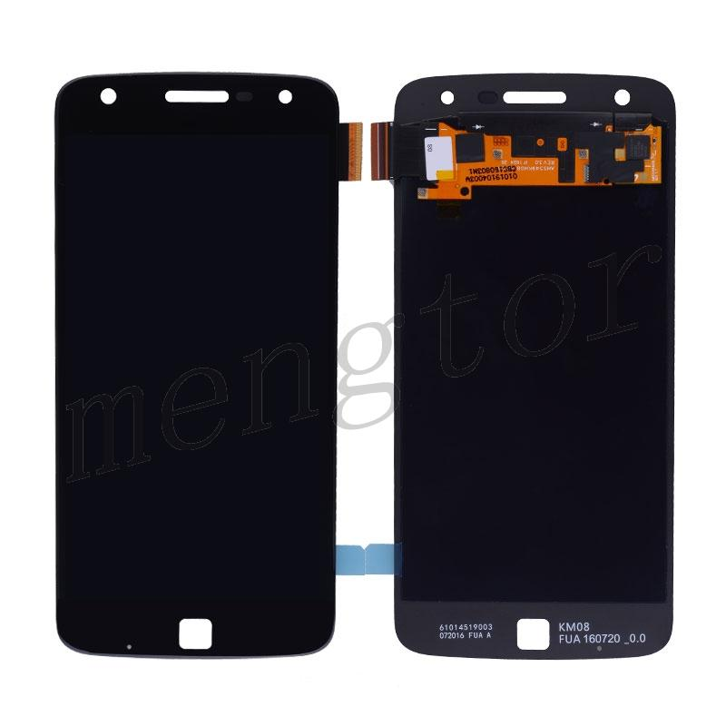 LCD Screen Display with Touch Digitizer Panel for Motorola Moto Z Play Droid XT1635 (Super High Quality)(for Moto) - Black