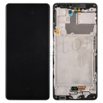 LCD Screen Digitizer Assembly With Frame for Samsung Galaxy A42 5G A426 - Black