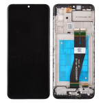LCD Screen Digitizer Assembly With Frame for Samsung Galaxy A02s (2021) A025 (for America Version) - Black